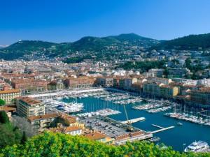 Vista de Niza (Francia)