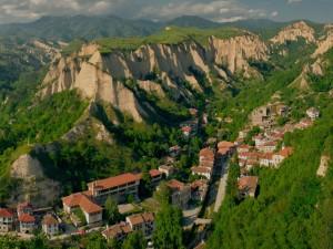 Vista de Melnik (Bulgaria)