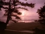 Playa al amanecer