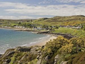Vista de Strath (Gairloch, Escocia)