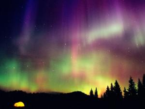 Hermosos colores en el cielo