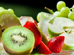 Sabrosas frutas frescas