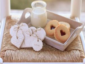 Galletas para un desayuno lleno de amor
