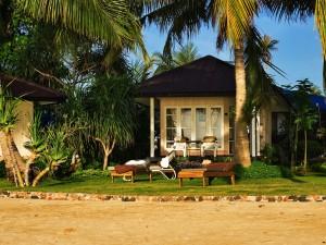 Confortable casa con jardín