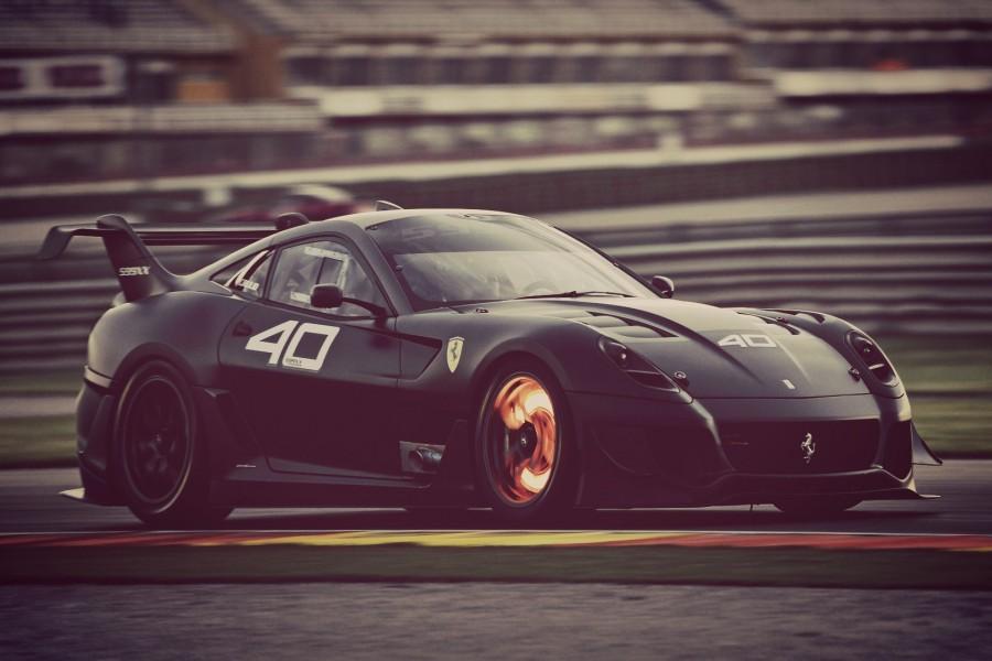 Ferrari 599 negro