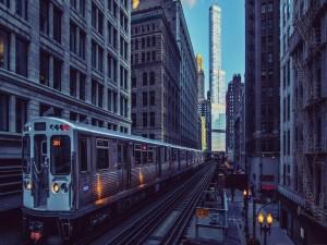 Metro en Chicago