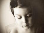 El rostro de una niña
