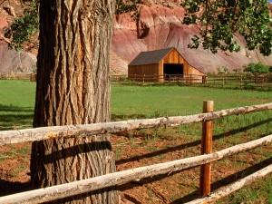 Granero en un rancho