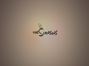 "Rotulo de ""The Simpsons"""