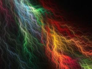 Relámpagos de colores