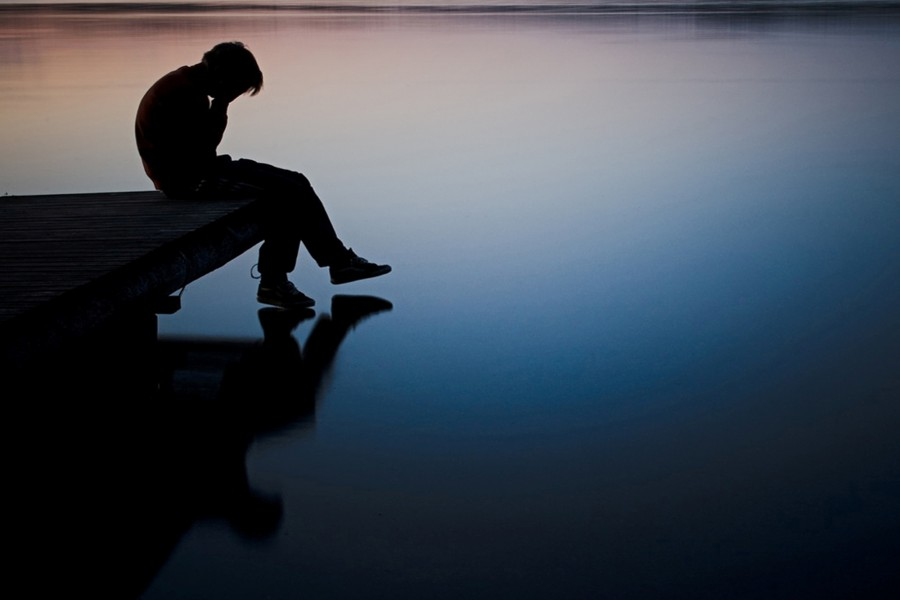 La tristeza de un muchacho
