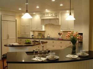 Una delicada y confortable cocina