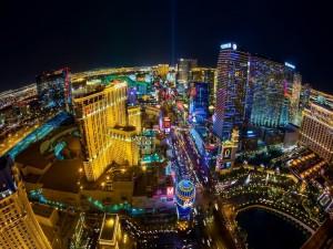 Vista panorámica de Las Vegas