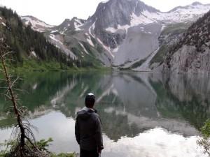 Contemplando la naturaleza