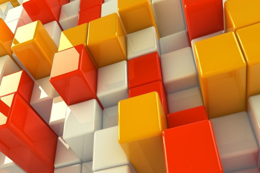 Cubos coloridos