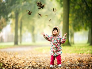 Disfrutando del otoño
