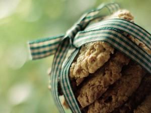 Cookies atadas por un lazo