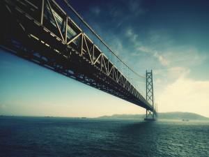 Gran puente en la ciudad de San Francisco