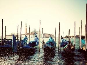Góndolas venecianas