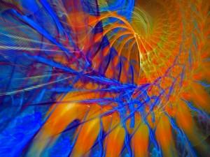Imagen abstracta colorida