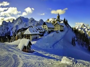 Viviendas en invierno