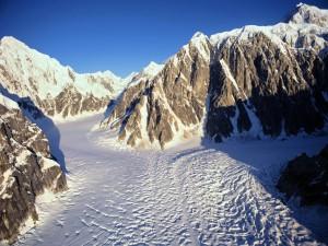 La fusión de los glaciares, Alaska
