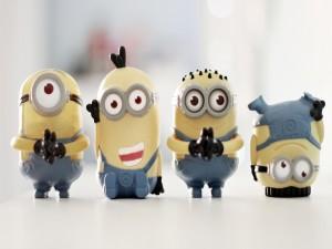Unos divertidos muñecos de los Minions