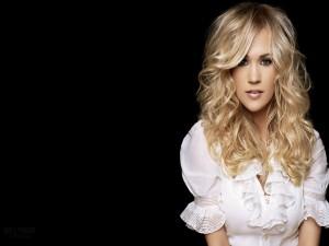La cantante de música country y actriz estadounidense Carrie Underwood