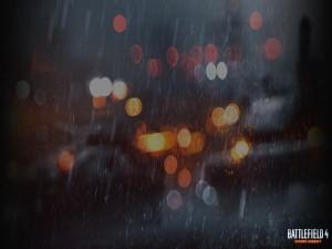 "Lluvia y luces en ""Battlefield 4"""