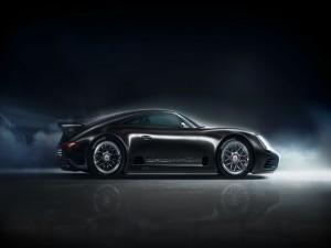 Porsche Negro