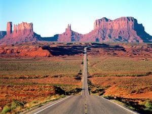 Carretera en Arizona