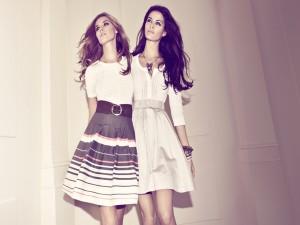 Dos guapas modelos