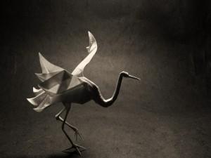 Un hermoso origami