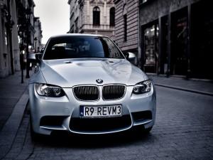 BMW E92 en una calle
