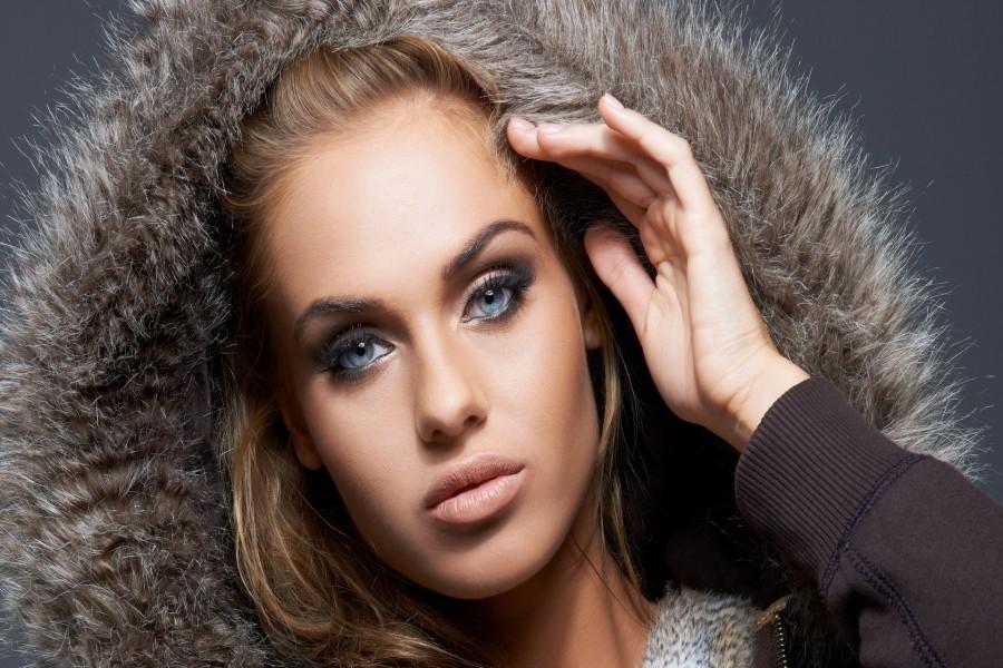 Modelo con unos bonitos ojos azules