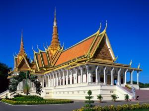 El Palacio Real de Nom Pen (Camboya)
