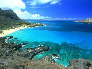 Bonita vista de Makapuu (Oahu, Hawái)
