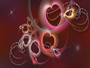 Perlas entre corazones