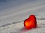 Corazón en el hielo