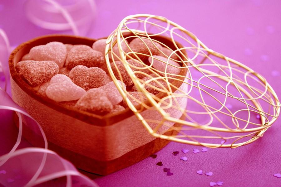 Corazones de caramelo para San Valentín