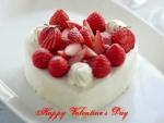 Tarta de queso y fresas para San Valentín