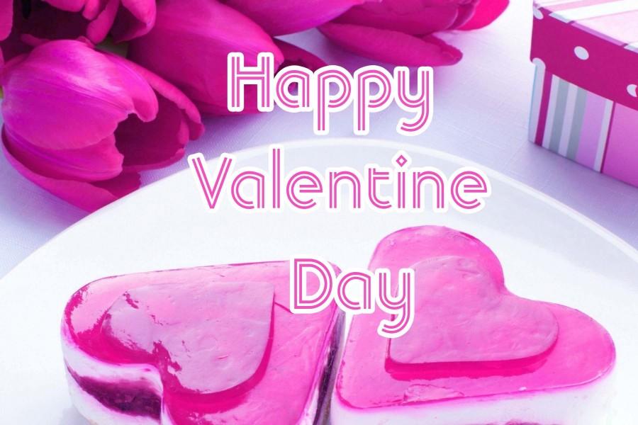 Ricas tartas con forma de corazón para el Día de San Valentín