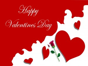 Bonita felicitación de San Valentín