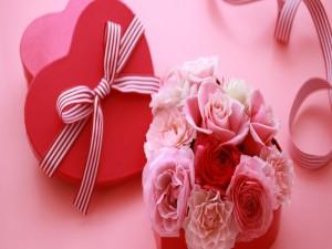 Flores para regalar en San Valentín