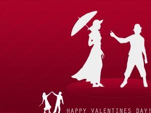 Parejas bailando en el Día de San Valentín