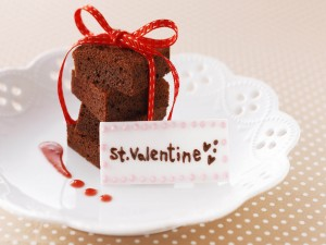 Pasteles de chocolate para el Día de San Valentín
