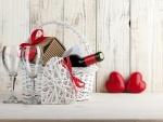 Elementos para festejar San Valentín