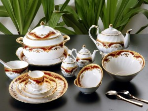 Servicio de porcelana
