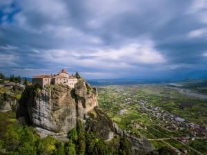 El monasterio de la Santa Trinidad (Meteora, Grecia)