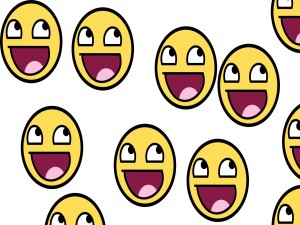 Divertido smiley